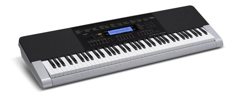 Синтезатор Casio WK-240 синтезатор casio wk 7600 76 невзвешенная полноразмерные 64 черный