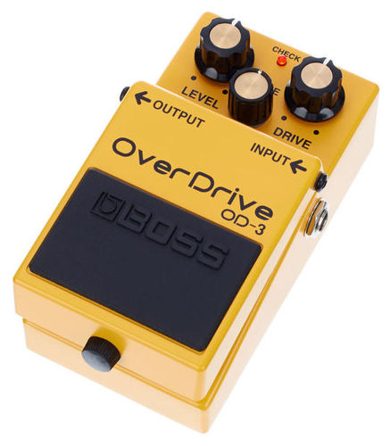Педаль Overdrive и Distortion Boss OD-3 boss tu 3