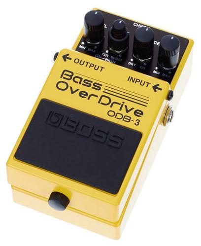 Педаль для бас-гитары Boss ODB-3 гитарный процессор для бас гитары boss me 20b