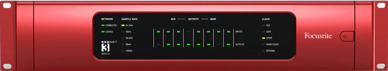 ЦАП-АЦП конвертер Focusrite RedNet3 цап ацп конвертер benchmark dac3 hgc b