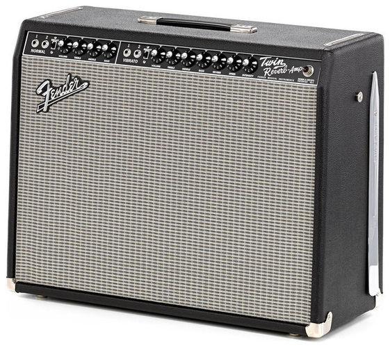 Гитарный усилитель Fender 65 TWIN REVERB 85 WATTS 2-12 JENSEN BLACK TOLEX стоимость