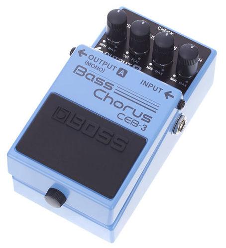 Педаль для бас-гитары Boss CEB-3 гитарный процессор для бас гитары boss me 20b
