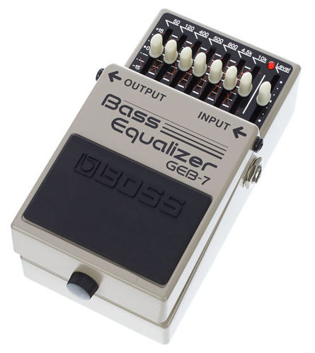 Педаль для бас-гитары Boss GEB-7 гитарный процессор для бас гитары boss me 20b