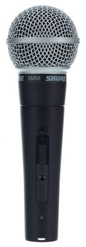 Динамический микрофон Shure SM58S стерео микрофон shure vp88