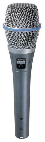 Конденсаторный микрофон Shure Beta 87C стерео микрофон shure vp88