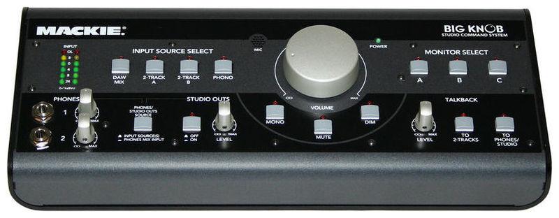 Контроллер, элемент управления Mackie BIG KNOB контроллер и регулятор для систем охлаждения