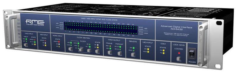 ЦАП-АЦП конвертер RME ADI-6432 цап ацп конвертер benchmark dac3 hgc b