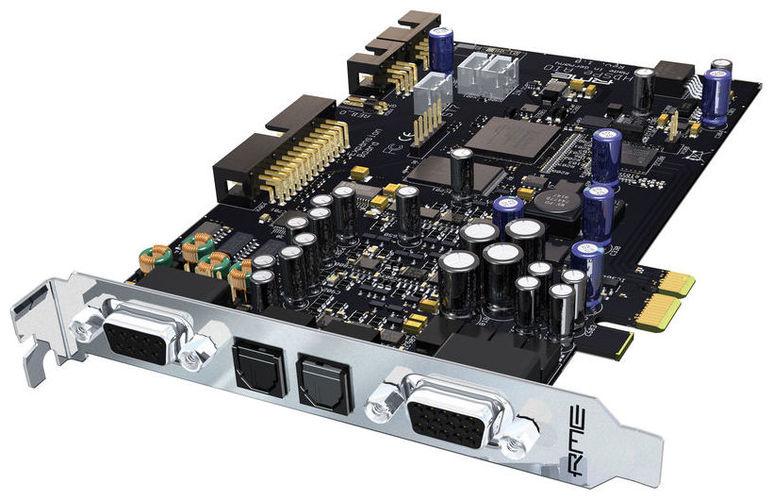 Звуковая карта интегрируемая RME HDSPe AIO