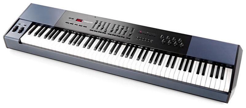 MIDI-клавиатура 88 клавиш M-Audio Oxygen 88 midi клавиатура 88 клавиш miditech i2 stage 88