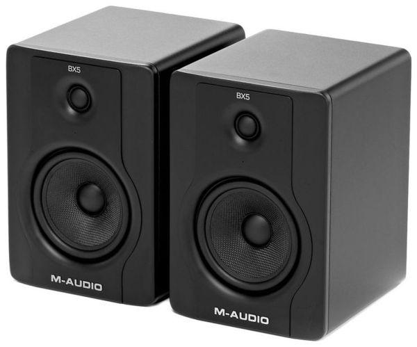 Активный студийный монитор M-Audio BX5 D2 монитор aoc 21 5 g2260vwq6 g2260vwq6