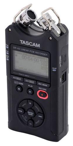 Рекордер Tascam DR-40 tascam dr 40 a035955 портативный рекордер black