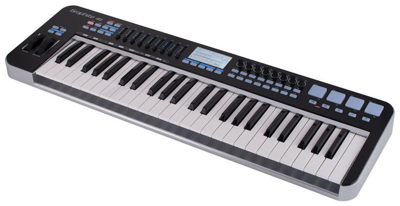 MIDI-клавиатура 49 клавиш Samson Graphite 49 midi dj контроллер samson graphite md13
