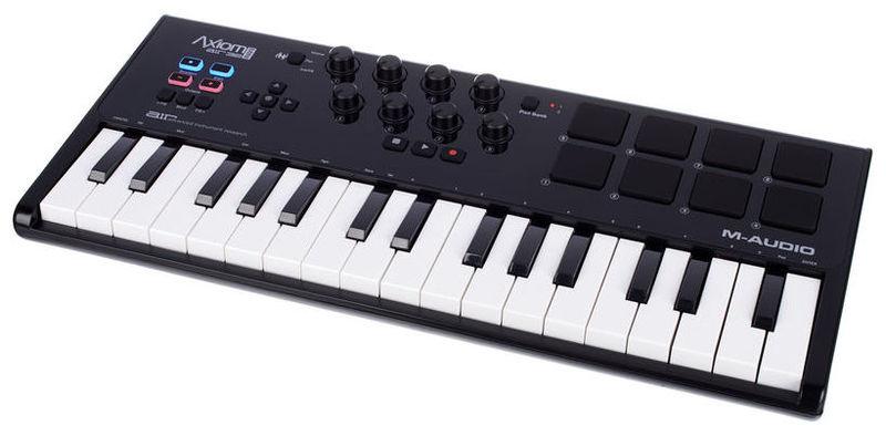 MIDI-клавиатура 32 клавиши M-Audio Axiom AIR Mini 32 мини клавиатура с тачпадом