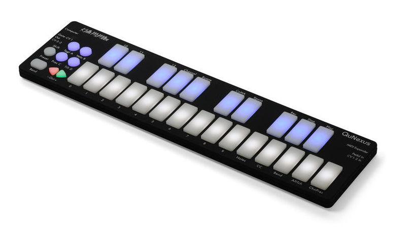 MIDI-клавиатура 25 клавиш Keith McMillen QuNexus цена