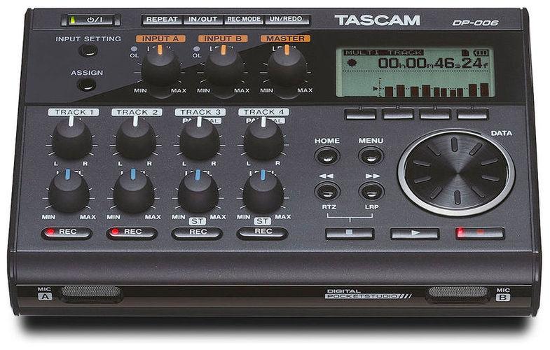 Рекордер Tascam DP-006 tascam tc 8