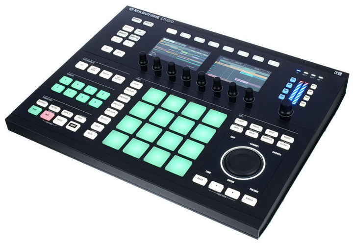 MIDI, Dj контроллер Native Instruments MASCHINE STUDIO Black midi dj контроллер behringer cmd studio 4a
