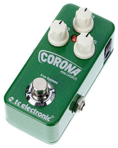 Педали Chorus, Flanger, Phaser TC Electronic CORONA MINI CHORUS tc electronic vortex mini flanger