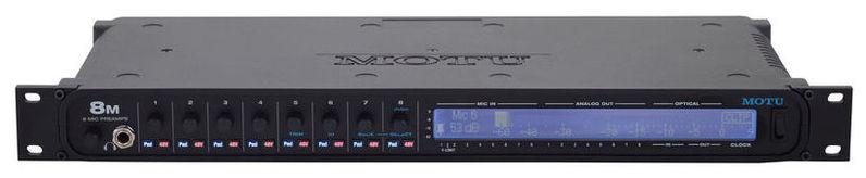 Звуковая карта внешняя MOTU 8M звуковая карта внешняя motu 16a