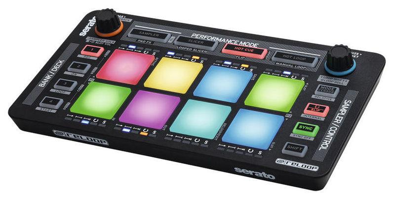 MIDI, Dj контроллер Reloop NEON midi контроллер alesis sample pad