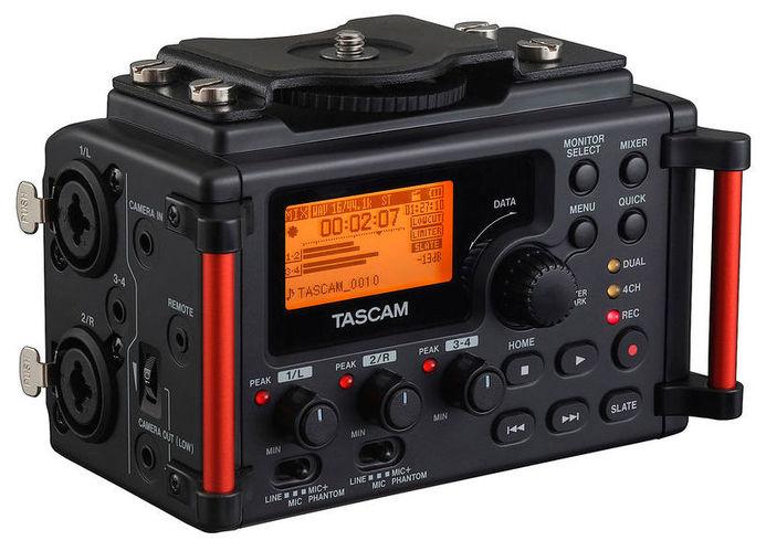 Рекордер Tascam DR-60D mkII tascam cd 200i
