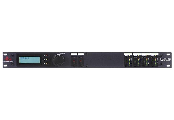 Процессор эффектов Dbx ZONEPRO 640 dbx 1046