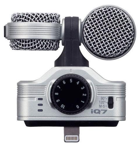 iPad/iPhone микрофон Zoom iQ7 удлинитель zoom ecm 3