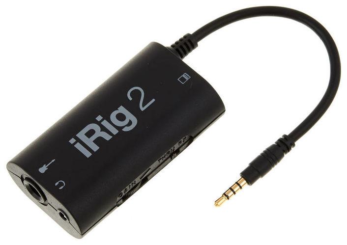 Звуковая карта внешняя IK Multimedia iRig 2 ik multimedia irig powerbridge