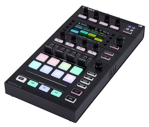 MIDI, Dj контроллер Native Instruments Traktor Kontrol D2