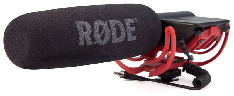 Микрофон для видеокамеры RODE VideoMic + Rycote Lyra