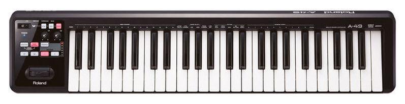 MIDI-клавиатура 49 клавиш Roland A-49 рама и стойка для электронной установки roland mds 4v drum rack