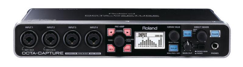 цена Звуковая карта внешняя Roland UA-1010 Octa-Capture онлайн в 2017 году