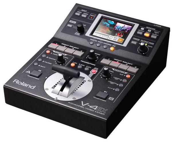 Видеомикшер Roland V-4 EX хай хэт и контроллер для электронной ударной установки roland fd 9 hi hat controller pedal