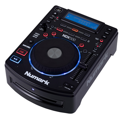 CD проигрыватель Numark NDX500 проигрыватель винила с ременным приводом numark pt touring