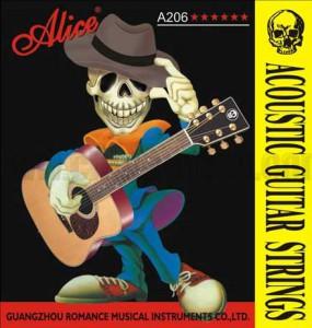 Струны для акустической гитары Alice A206SL алиса алиса гитары струны стали гитарной струны акустической гитарной струны струны акустическая гитара 1 6 наборов строк 6 прикреплены 208 l