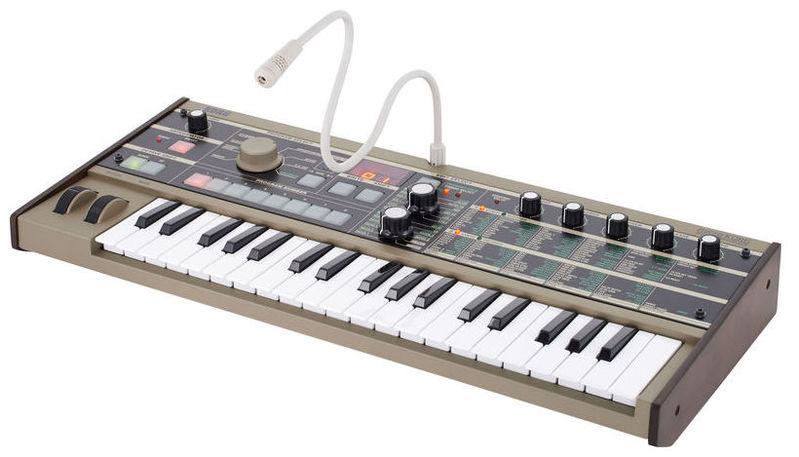 Синтезатор Korg microKORG мини клавиатура с тачпадом