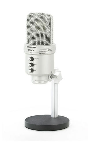 USB микрофон Samson G-Track USB микрофон samson c01u pro usb