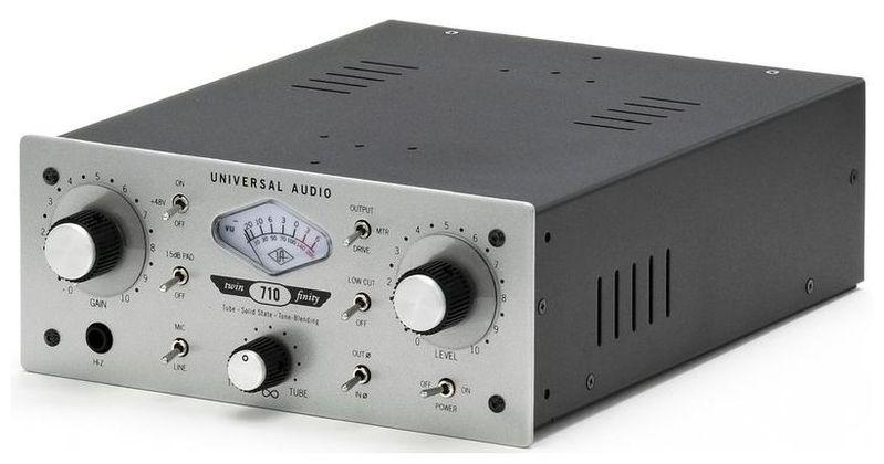 Микрофонный предусилитель Universal Audio 710 Twin-Finity пентэласт 710 в костанае