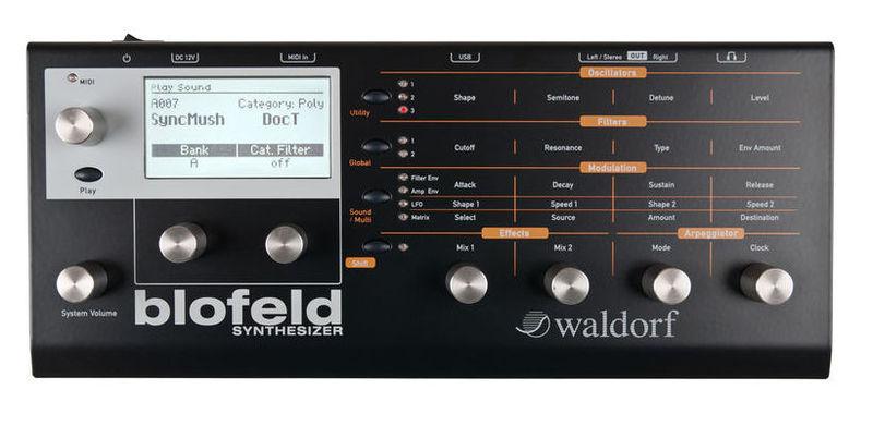 Звуковой модуль Waldorf Blofeld Bk высоковольтный тиристорный модуль втм 1000
