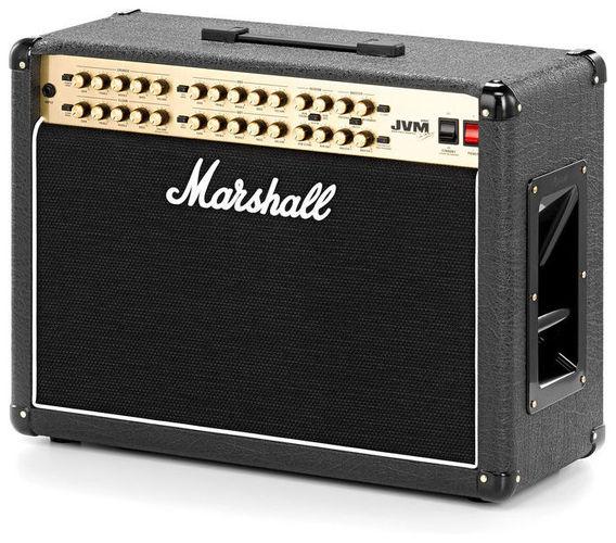 Комбо для гитары MARSHALL JVM410C 100 WATT ALL VALVE 2X12 4 CHANNEL COMBO комбо для гитары marshall jvm205c
