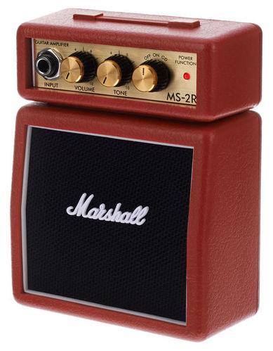 Усилитель для бас-гитары MARSHALL MS-2R-E комбо для гитары marshall jvm205c