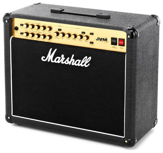 Комбо для гитары MARSHALL JVM 215C 50 WATT ALL VALVE 2 CHANNEL COMBO комбо для гитары boss katana mini