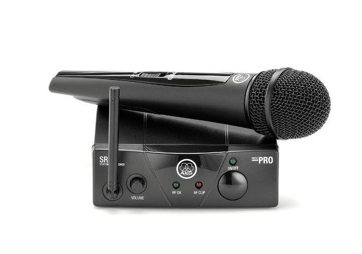 Готовый комплект радиосистемы AKG WMS40 Mini Vocal Set приёмник и передатчик для радиосистемы akg dsr700 v2 bd1