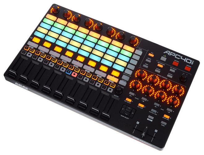 MIDI, Dj контроллер AKAI APC40 MkII midi контроллер akai professional mpc touch