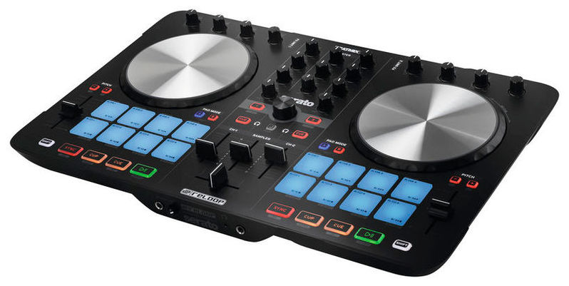 MIDI, Dj контроллер Reloop Beatmix 2 MK2 reloop beatmix 4