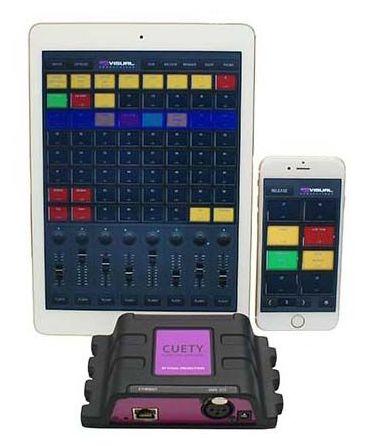 Световой контроллер Visual Productions LPU-1 Cuety iPad Control italian visual phrase book