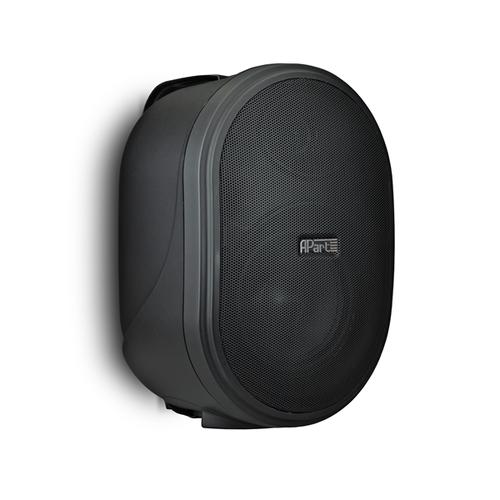Подвесная настенная акустика APart OVO8T-BL контроллер аудиопроцессор apart матричный коммутатор audiosystem 8 8
