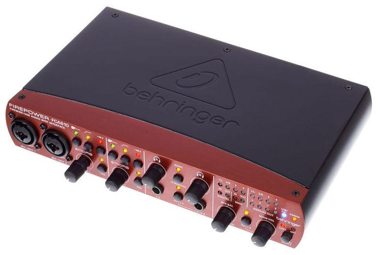 Звуковая карта внешняя Behringer FCA610 аналоговый микшер behringer xenyx x 1204usb