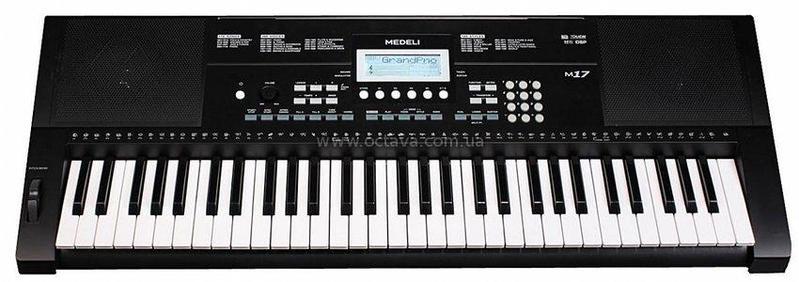 Синтезатор и звуковой модуль Medeli M17 внешний звуковой модуль егерь авзм без кабеля