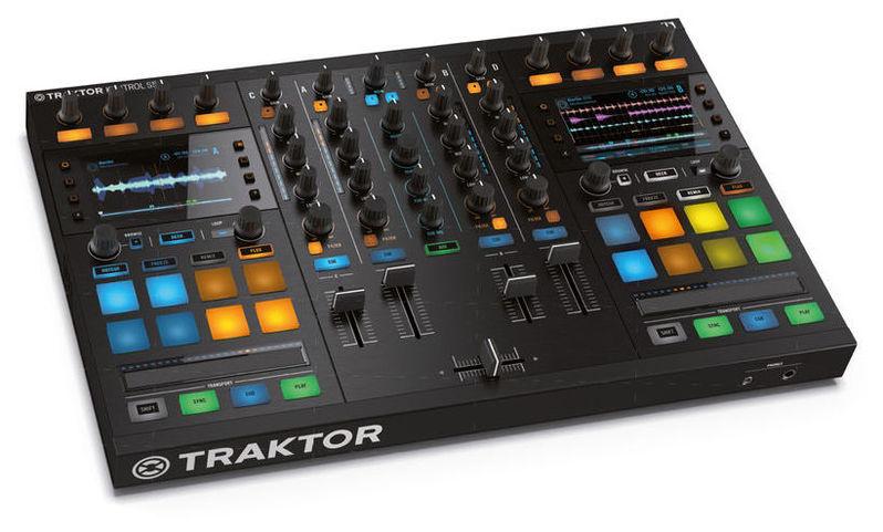 MIDI, Dj контроллер Native Instruments Traktor Kontrol S5 кейс для диджейского оборудования thon case native traktor kontrol s4