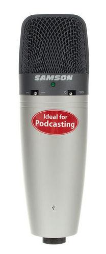 USB микрофон Samson C03U микрофон samson c01u pro usb
